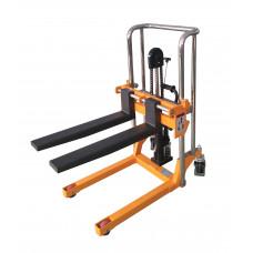Handbediende stapelaar 400 kg, hefhoogte 850 mm