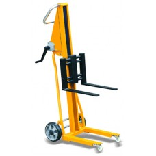 Handbediende stapelaar 120 kg, hefhoogte 1050 mm