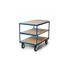 Tafelwagen, 3 niveaus 500kg Platform 1000 x 700 mm